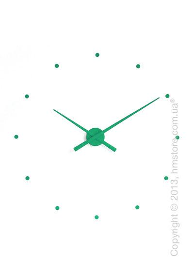 Часы настенные Nomon Oj Wall Clock, Green