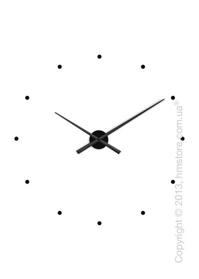 Часы Настенные Nomon Oj Wall Clock, Black –Купить