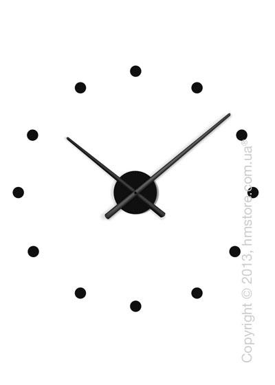 Часы настенные Nomon Oj Mini Wall Clock, Black