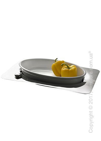 Фруктовница Bugatti Acqua Oven Dish, Хром