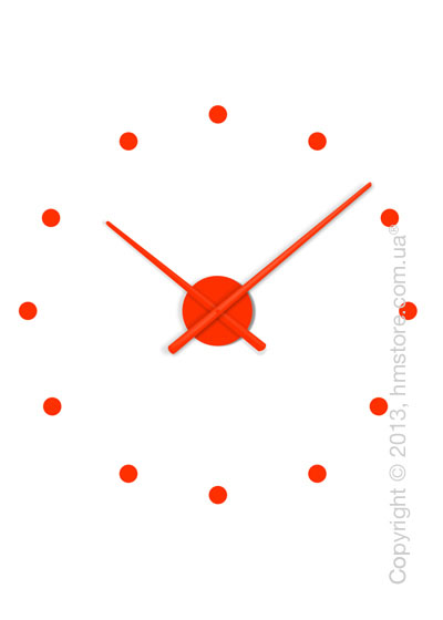 Часы настенные Nomon Oj Mini Wall Clock, Orange
