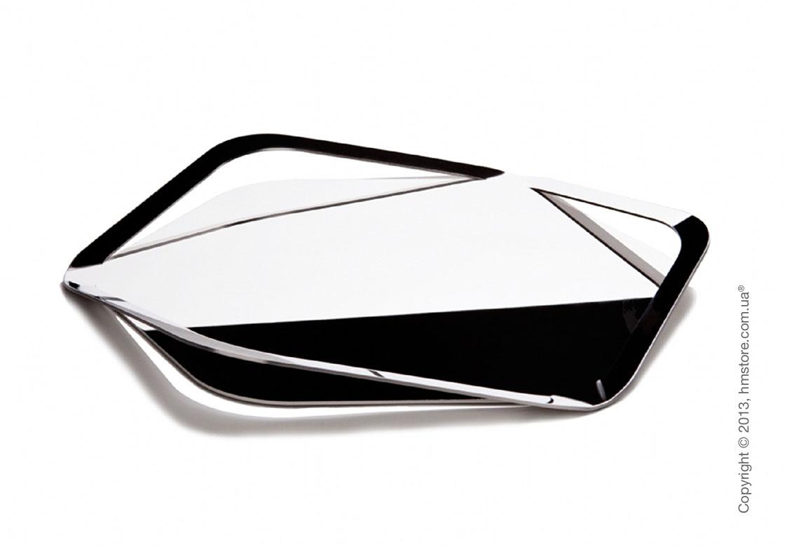 Поднос Bugatti Trattoria Tray, Хром