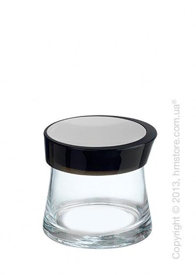 Емкость для сыпучих продуктов Bugatti Glamour JAR, 0.7 л, Черная