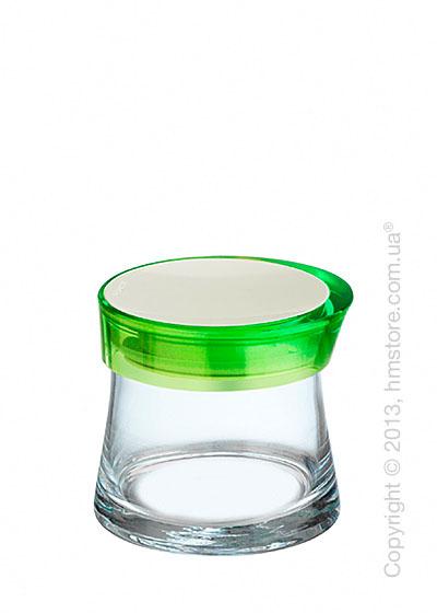 Емкость для сыпучих продуктов Bugatti Glamour JAR, 0.7 л, Зеленая