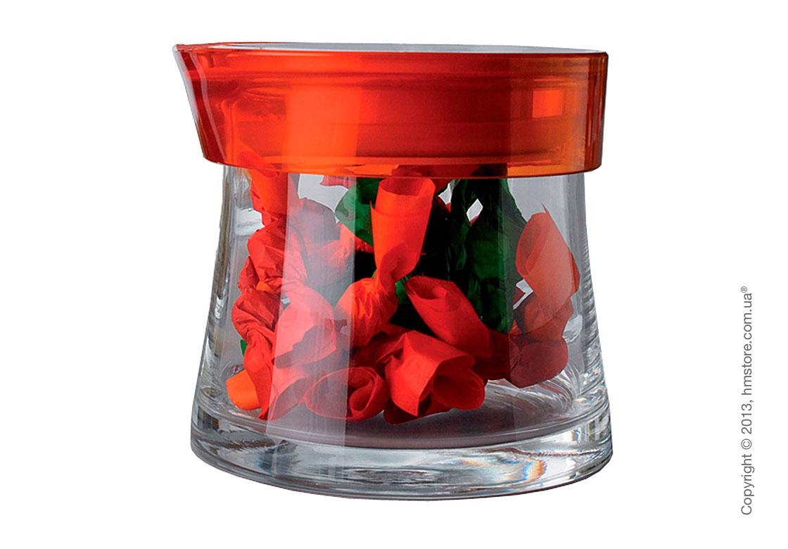 Емкость для сыпучих продуктов Bugatti Glamour JAR, 0.7 л, Оранжевая