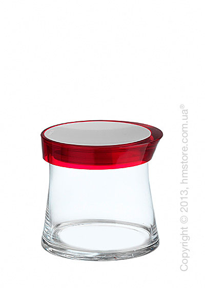 Емкость для сыпучих продуктов Bugatti Glamour JAR, 0.7 л, Красная