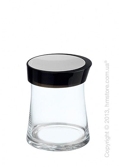 Емкость для сыпучих продуктов Bugatti Glamour JAR, 1 л, Черная
