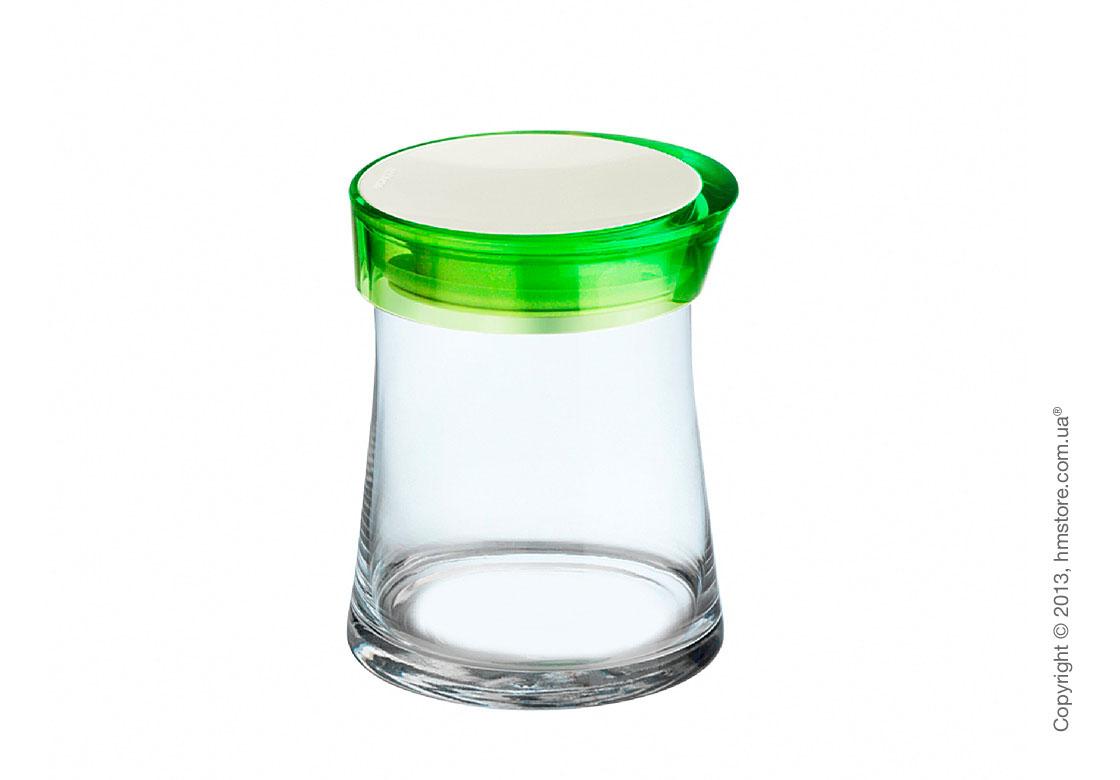 Емкость для сыпучих продуктов Bugatti Glamour JAR, 1 л, Зеленая