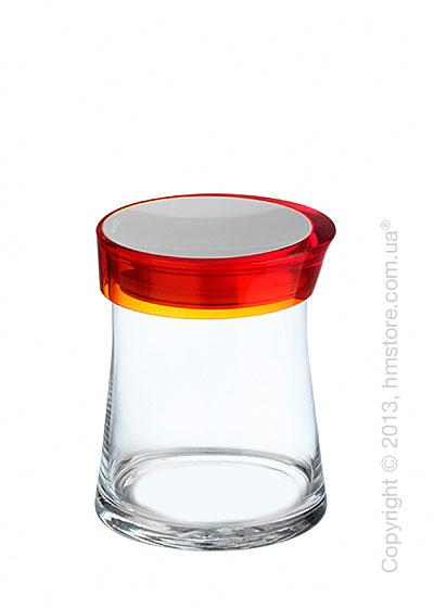 Емкость для сыпучих продуктов Bugatti Glamour JAR, 1 л, Оранжевая