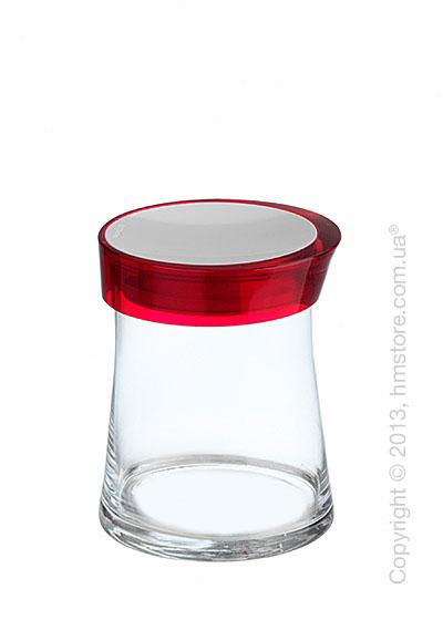Емкость для сыпучих продуктов Bugatti Glamour JAR, 1 л, Красная