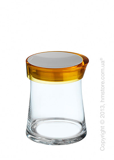 Емкость для сыпучих продуктов Bugatti Glamour JAR, 1 л, Желтая