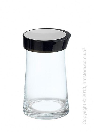 Емкость для сыпучих продуктов Bugatti Glamour JAR, 1.5 л, Черная