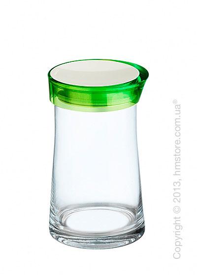 Емкость для сыпучих продуктов Bugatti Glamour JAR, 1.5 л, Зеленая