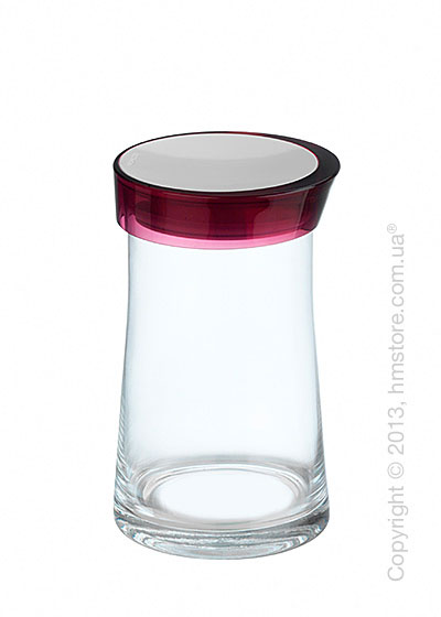 Емкость для сыпучих продуктов Bugatti Glamour JAR, 1.5 л, Сиреневая