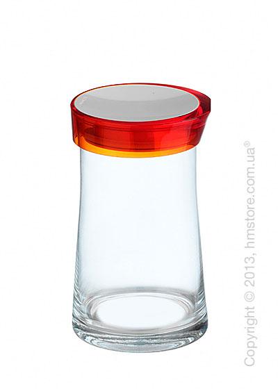 Емкость для сыпучих продуктов Bugatti Glamour JAR, 1.5 л, Оранжевая
