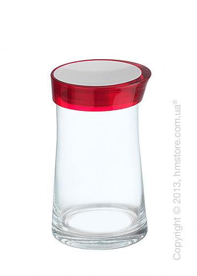 Емкость для сыпучих продуктов Bugatti Glamour JAR, 1.5 л, Красная
