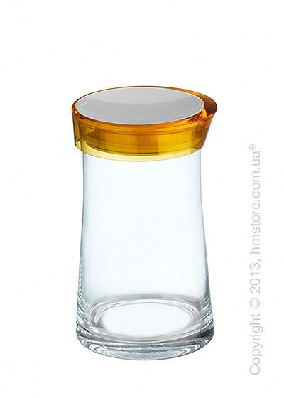 Емкость для сыпучих продуктов Bugatti Glamour JAR, 1.5 л, Желтая