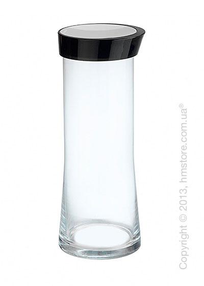 Емкость для сыпучих продуктов Bugatti Glamour JAR, 2 л, Черная
