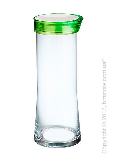 Емкость для сыпучих продуктов Bugatti Glamour JAR, 2 л, Зеленая