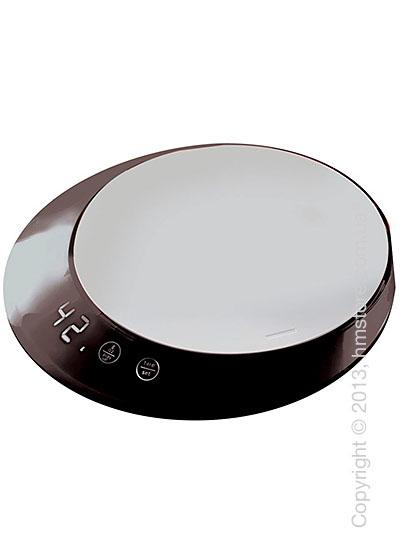 Весы кухонные с таймером Bugatti Glamour Scale and timer, Black