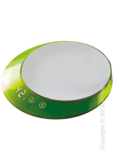 Весы кухонные с таймером Bugatti Glamour Scale and timer, Apple Green