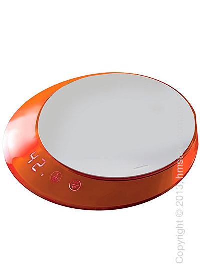 Весы кухонные с таймером Bugatti Glamour Scale and timer, Orange