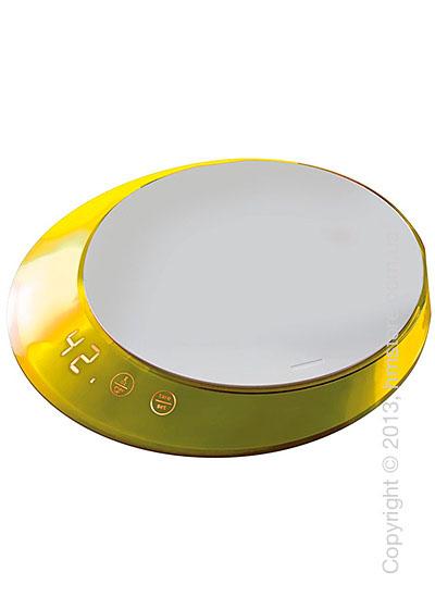 Весы кухонные с таймером Bugatti Glamour Scale and timer, Yellow