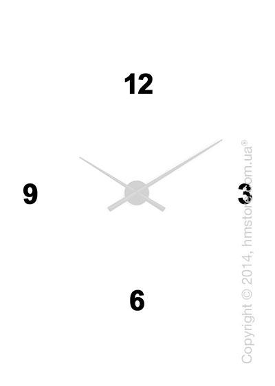 Цифры для настенных часов Nomon Oj, Acrylic Black (4)