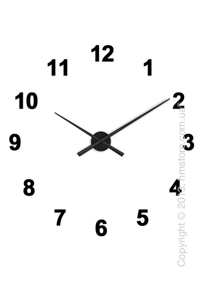 Часы настенные Nomon Oj 12 Numbers Pack Wall Clock, Black