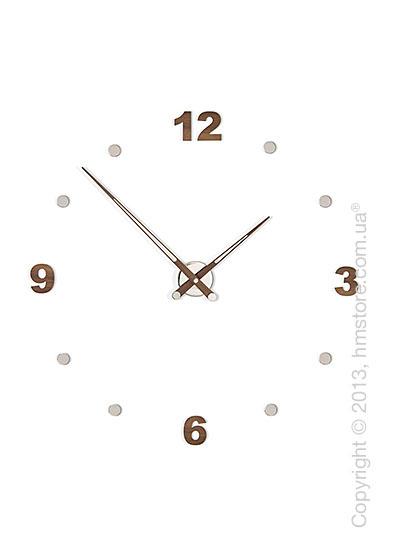 Часы настенные Nomon Axioma N 4 Numbers Pack Wall Clock, Walnut
