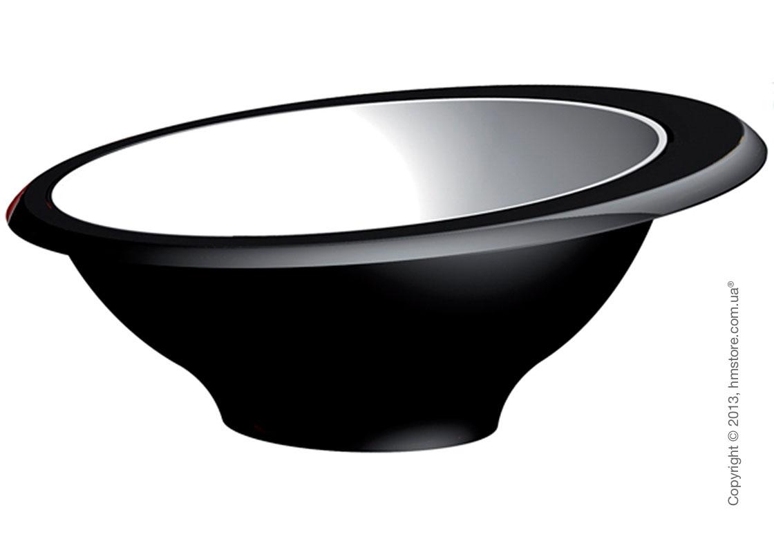 Пиала Bugatti Glamour Fruit Bowl, Черная
