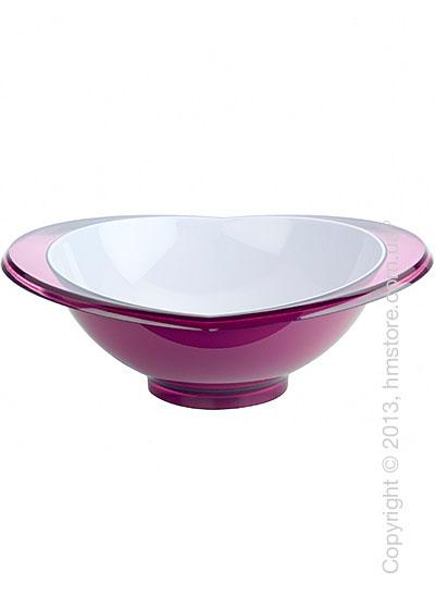 Салатница Bugatti Glamour Salad Bowl, Сиреневая