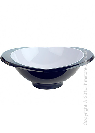 Салатница Bugatti Glamour Salad Bowl Large, Черная