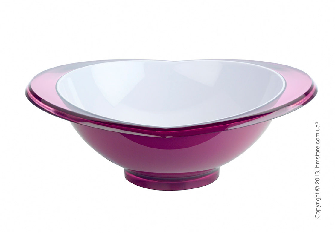 Салатница Bugatti Glamour Salad Bowl Large, Сиреневая