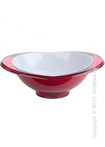 Салатница Bugatti Glamour Salad Bowl Large, Красная