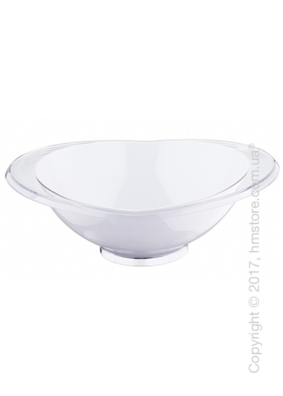 Салатница Bugatti Glamour Salad Bowl Large, Белая