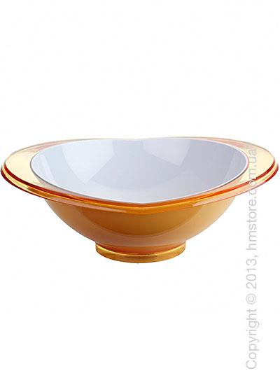 Салатница Bugatti Glamour Salad Bowl Large, Желтая