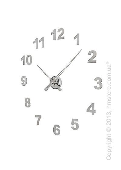 Часы настенные Nomon Axioma I 12 Numbers Pack Wall Clock, Steel