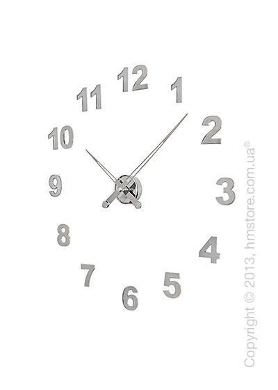 Часы настенные Nomon Axioma I 12 Numbers Pack Wall Clock, Steel