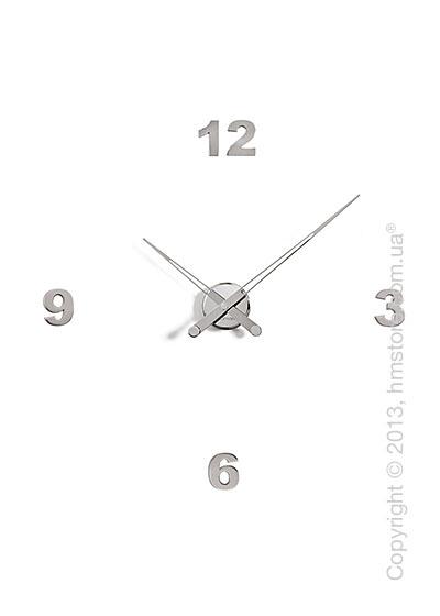 Часы настенные Nomon Axioma I 4 Numbers Pack Wall Clock, Steel
