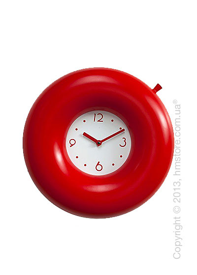Часы настенные Progetti Salvatempo 1 Wall Clock, Red