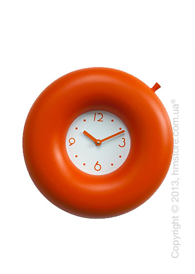 Часы настенные Progetti Salvatempo 1 Wall Clock, Orange