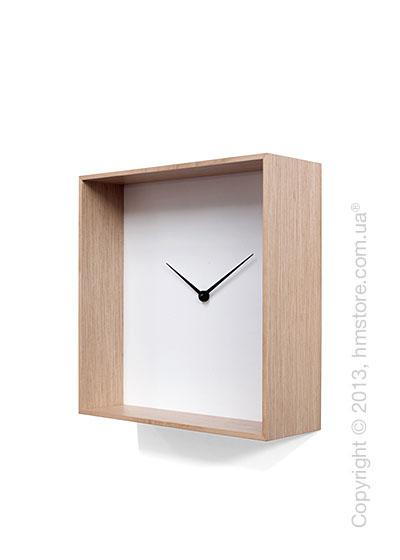 Часы настенные Progetti Cube 01 Wall Clock, Light Wood