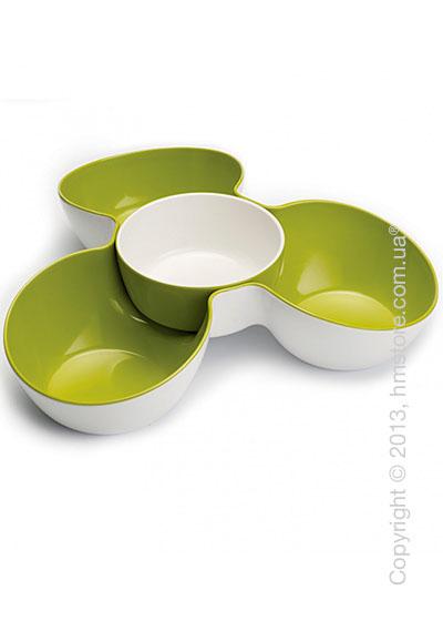 Миски для закусок Joseph Joseph Triple Dish, Бело-зеленые