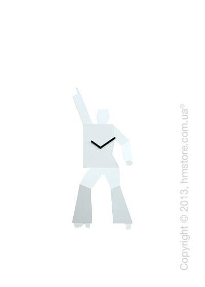 Часы настенные Progetti Hustle 1 Wall Clock, White