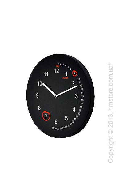 Часы настенные Progetti Save the date Wall Clock, Black