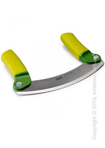 Нож для зелени Joseph Joseph Mezzaluna, Зеленый