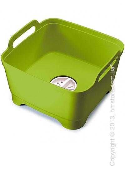 Емкость для мытья посуды Joseph Joseph Wash & Drain, Зеленая