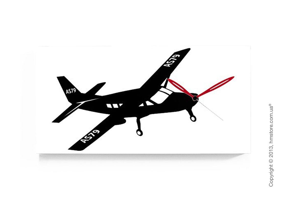 Часы настенные Progetti Flyer Cessna Wall Clock, White