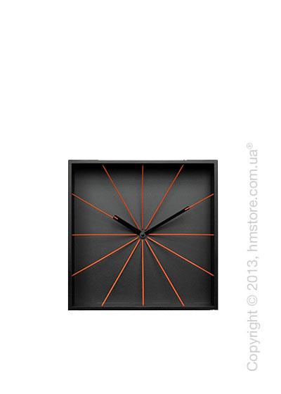 Часы настенные Progetti Prospettivo Wall Clock, Black